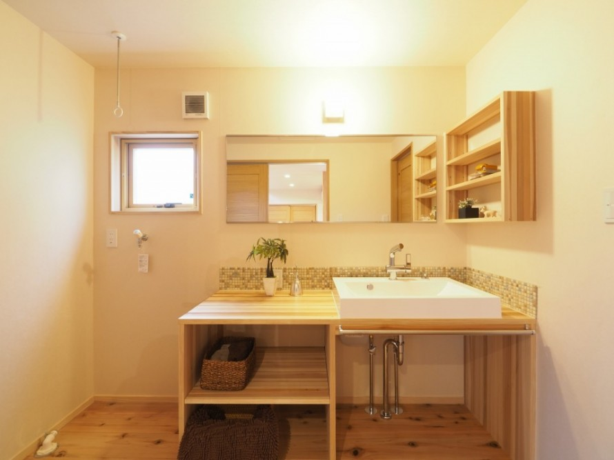 洗面台の種類と適切な高さ