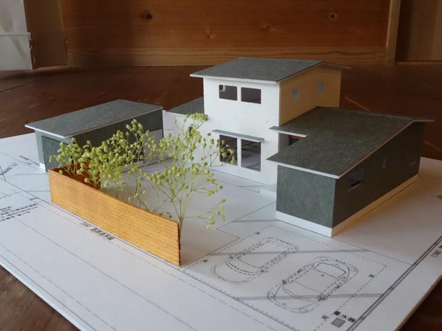 新潟市西蒲区巻の家 プレゼン模型