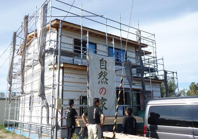 新潟市西蒲区越前浜の家 社内造作検査