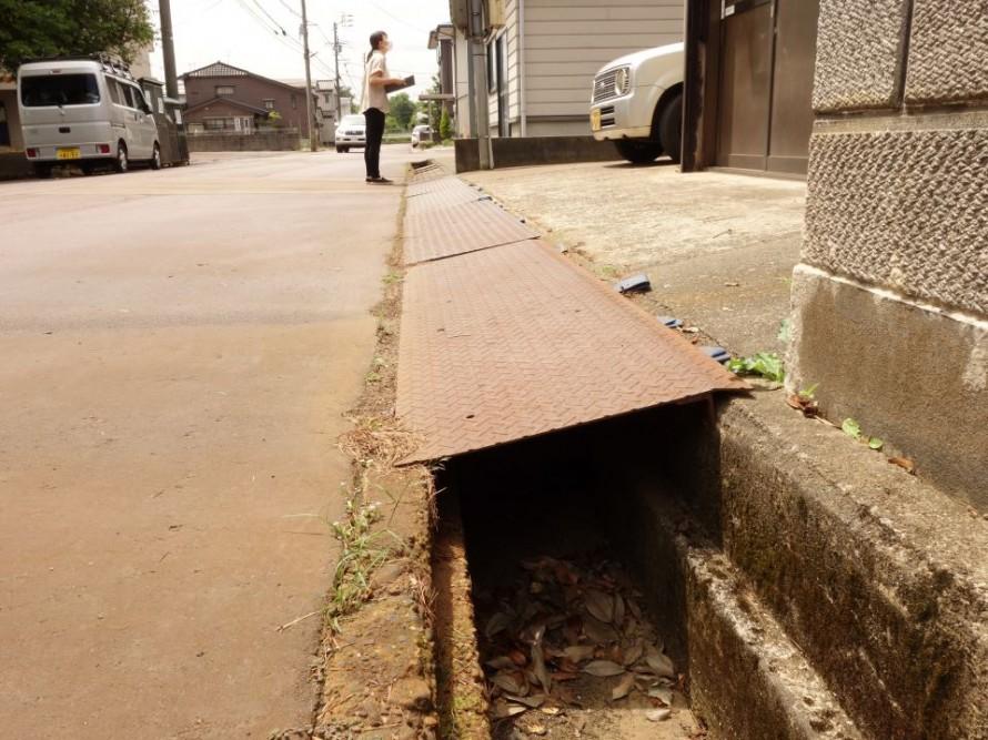 設計前の敷地環境調査で長岡へ