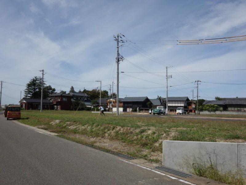 阿賀野市の家 敷地環境調査