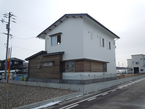 村上市山辺里 若蔵S仕様 新築工事 3/11~見学会開催予定!見どころは...?