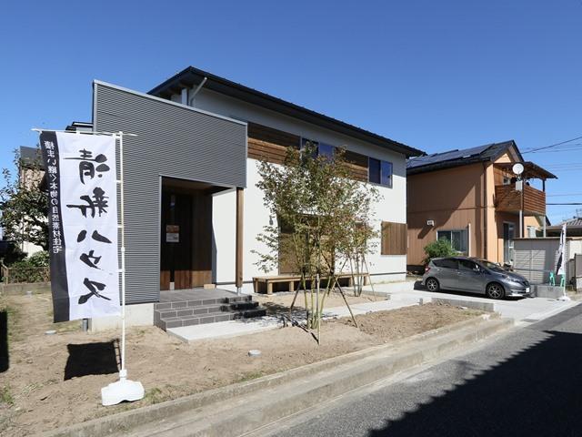 江南区亀田中島の家