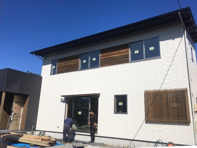亀田中島の家まもなく竣工!オープンハウスのご予約受付中です!
