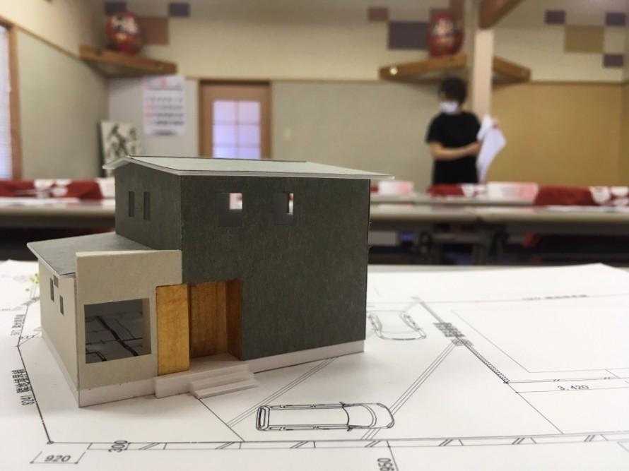 \まもなく着工!/新潟市江南区の旗竿地に建てる33坪の家