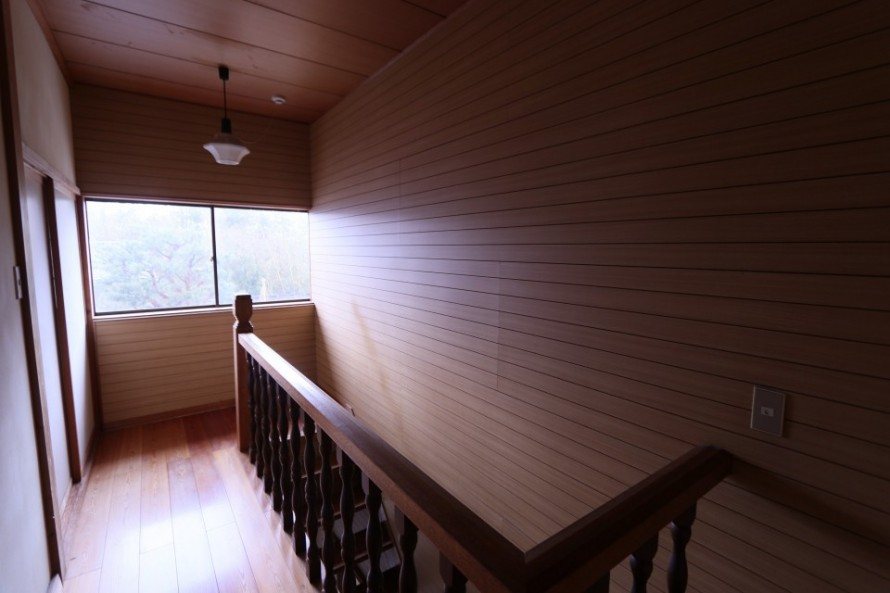 阿賀野市にて壁面羽目板張替え工事を行いました