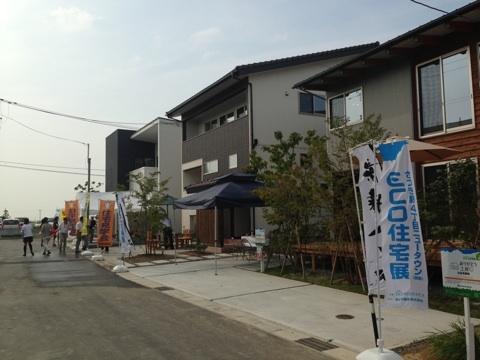 新潟市秋葉区さつき野 ECO住宅展 自然素材の家