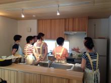 IH料理教室in越後現代町家モデルハウス