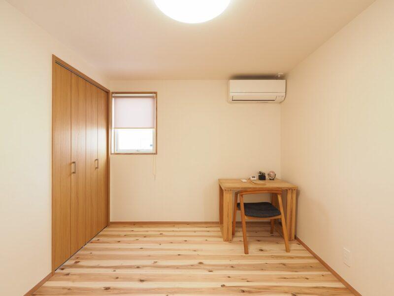 子供室 エアコン 自然素材の家